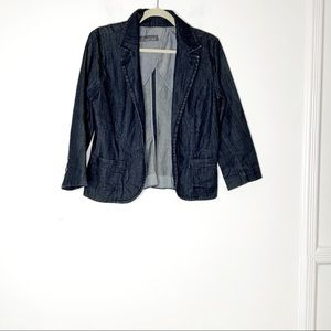 LEVEL 99 casual jean jacket. Size M